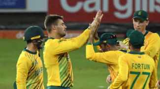Proteas spin and win