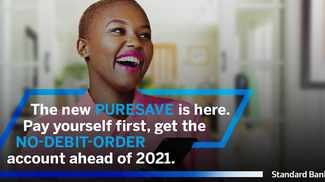 Same product, great new features, Standard Bank's PureSave account