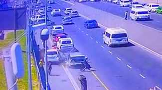 WATCH: Drunk driver ploughs into five people, kills baby