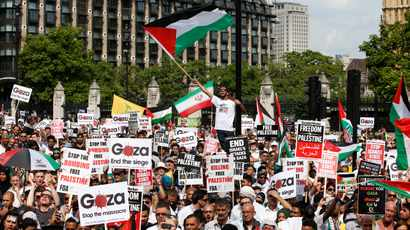 As Israel continues to bomb Gaza, South Africans, diplomats show solidarity at Palestinian embassy