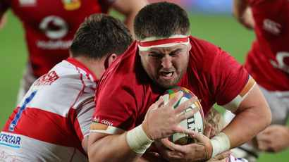 British and Irish Lions rocked by Wyn Jones blow before first Springbok Test