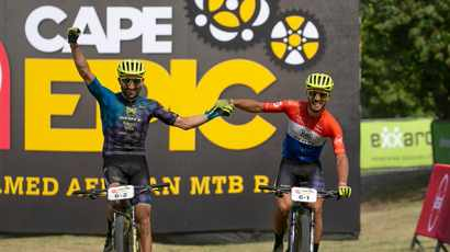 Flawless Becking,Dias claim the Stage 4 honours of Cape Epic