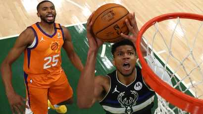 Giannis delivers 'freak' performance to power Bucks to NBA title