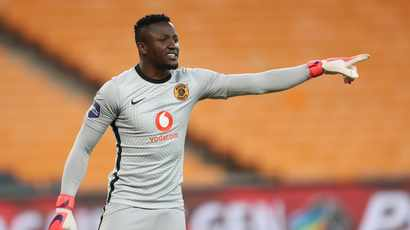 It's taken some time but Bruce Bvuma is becoming a cult hero at Kaizer Chiefs