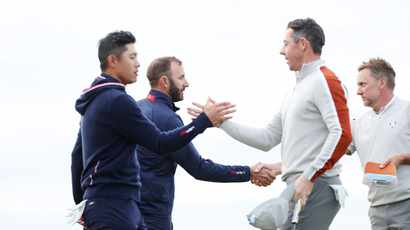 McIlroy again fails to fire as US dominate Europe at Ryder Cup