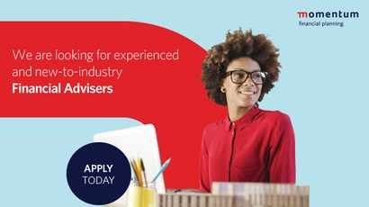 Momentum aims to attract the younger generation for careers in financial planning