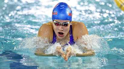 Rebecca Meder leads the way with seven golds so far at African Swimming Championships