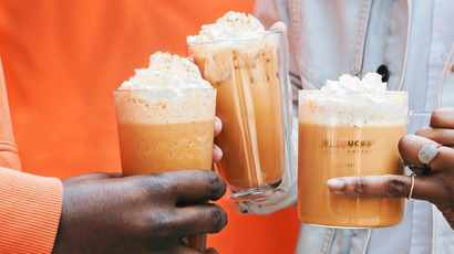 Starbucks launches the iconic Pumpkin Spice Latte