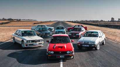 TAKE A LOOK: A gathering of eight SA automotive greats, from Superboss to GTV6 3.0