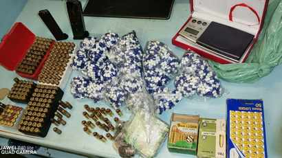 Teenagers nabbed with drugs, ammunition at 'well-known drug dealers' home in Wentworth