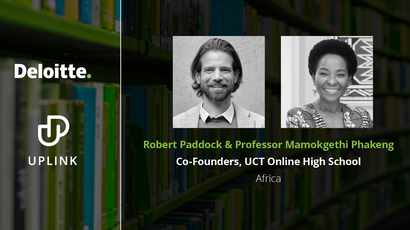 UCT Online High School selected Top 12 Innovator at World Economic Forum