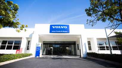 WATCH: Volvo Trucks' stunning new KZN dealership is officially open for business