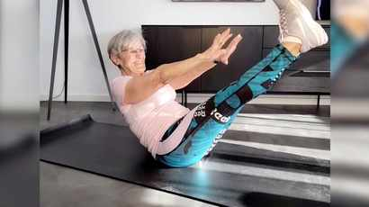 WATCH: She's got moves! Woman becomes TikTok fitness and dance star at 81