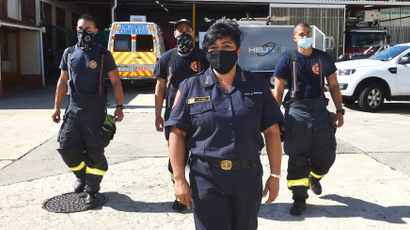 What it takes to remain calm in heat of moment – Cape Town's female firefighters