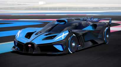 1360kW Bolide track car is Bugatti's most extreme creation ever