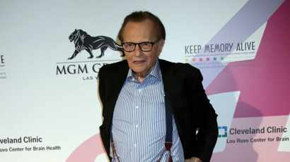 Celebrities pay tribute to 'American treasure' Larry King