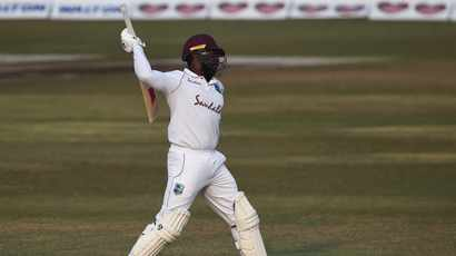 Mayers makes 210 on debut as Windies seal remarkable win