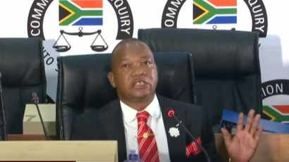 LIVE FEED: State Capture Inquiry - May 12, 2021