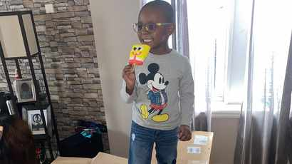 Mom panicked after her son,4 , bought SpongeBob popsicles worth R36K