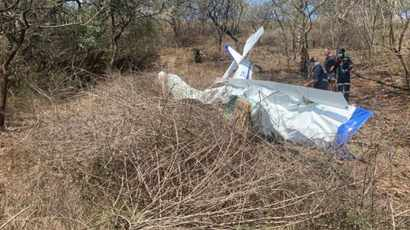 Light aircraft crash in the Midlands kills 2 people