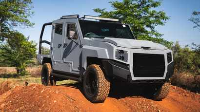 SVI Engineering launches new South African designed armoured vehicle