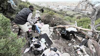 We have unwritten rules for the homeless staying on Table Mountain