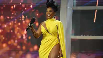 Miss SA host Nomzamo Mbatha's outfit changes steal the show