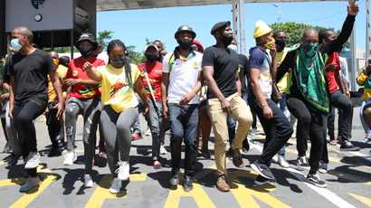 Students protest at UKZN over historical debt issue