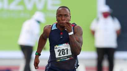 Always happy to run a clean race, says Akani Simbine after clinching SA 100m title
