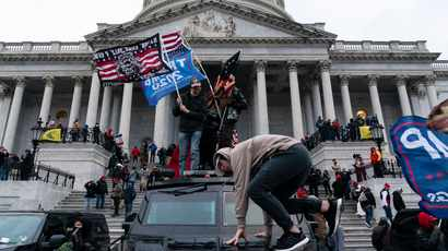 US police warn of 'plot to breach' Capitol on March 4