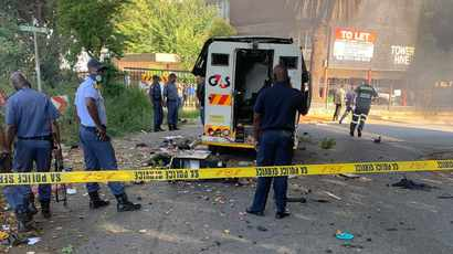 Police kill four alleged cash-in-transit heist robbers during shoot-out in Katlehong