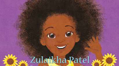 Hair activist Zulaikha Patel launches children's book