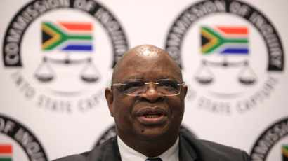 Sue board members for SOE losses, says Justice Zondo