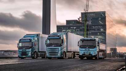 Volvo Trucks launches all-electric FH, FM and FMX: up to 300km delivery range possible on a single charge
