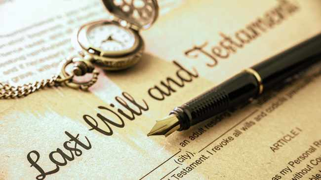13 to 17 September - is National Wills week. File photo
