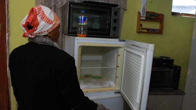 APPETITE TO ROB: Skelms emptied the freezer. Picture: Mandilakhe Tshwete