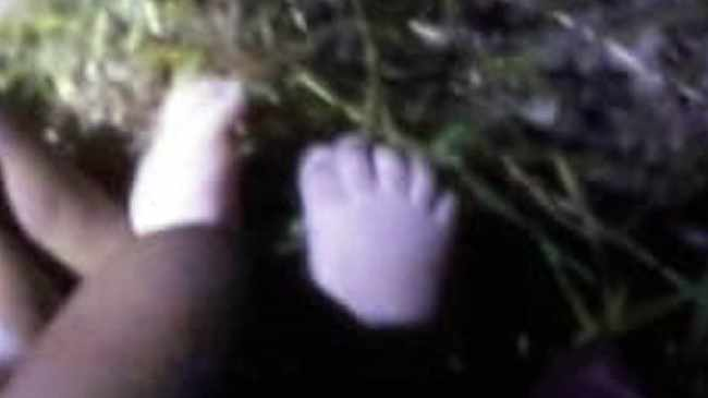 BABY IN THE BUSH: The foetus of a girl was dumped along Symphony Way. Picture supplied