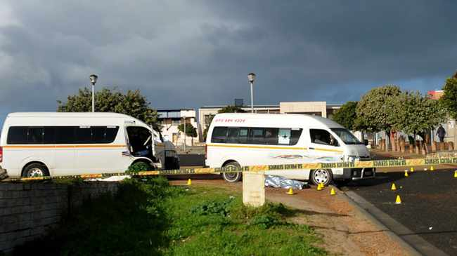 CARNAGE: 80 killed in taxi violence this year. Picture: African News Agency (ANA)