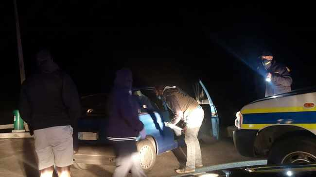 COP BLOCK: Crime fighters caught 13 couples having sex while on patrol along Baden Powell Drive on Friday night