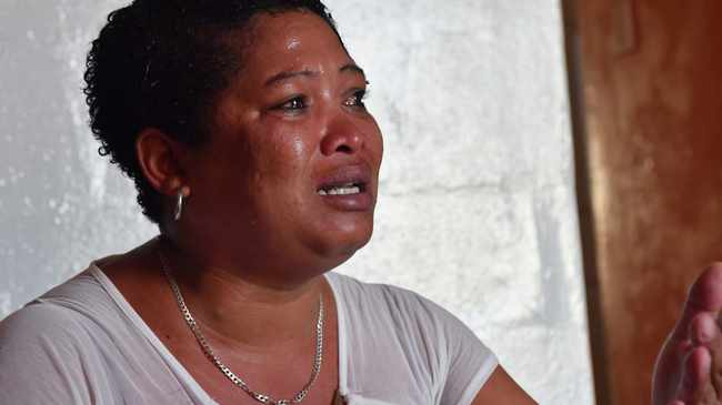 Cecelia Atkins, 38, was given a R1500 fine for 'violating lockdown regulations'. Picture: Monique Duval