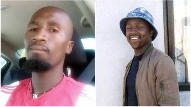 Cousins Thoba Ntandane, 29, and Ntsikelelo Myeki, 23, killed during taxi war. Pictures supplied