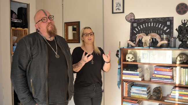 DEFENCE: Co-founders of SA Satanic Church in Cape Town, Adri Norton and Riaan Swiegelaar