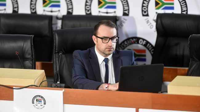 Director of investigations at Shadow World Investigations Paul Holden File picture: African News Agency (ANA)