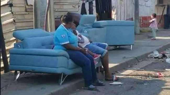 FAME: The R70 000 couch has been restored