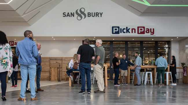 FINANCIAL HOPE: Sanbury Square near Croydon will officially open its doors on pay day, 25 February