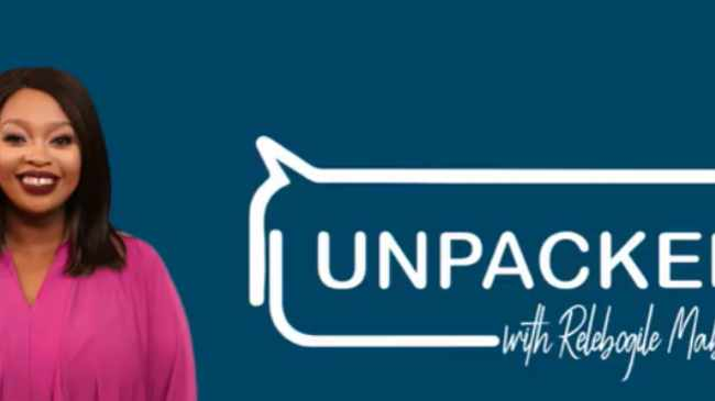 FRANK: Unpacked with Relebogile at 5pm, SABC3