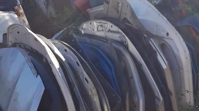 Law enforcement agencies found an illegal chop shop in the bushes in KwaMakhutha; another illegal chop shop in Illovo, also in a bushy area; a Toyota Etios was recovered in Lamontville, stripped; another Toyota Etios was recovered in Lamontville; a Hyundai H100 was recovered in Illovo, partially stripped; and a VW Caravelle was recovered in Ngonyameni. Picture: Facebook