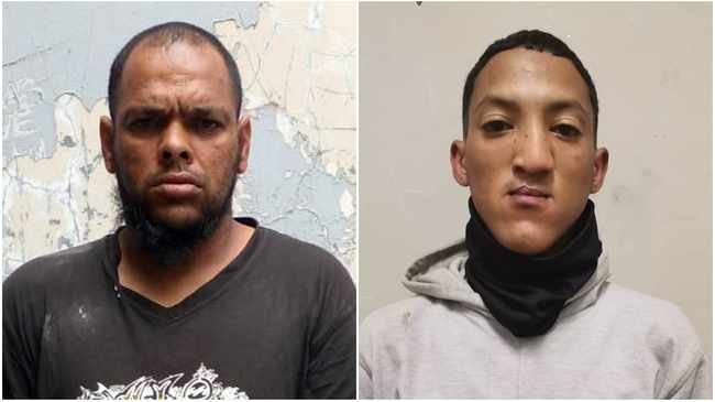 MURDER ACCUSED: Irefaan Johnson and Diego Thomas.Pictures supplied