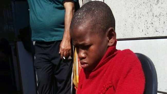 ORDEAL: Marcell Stevens, 13. Picture supplied