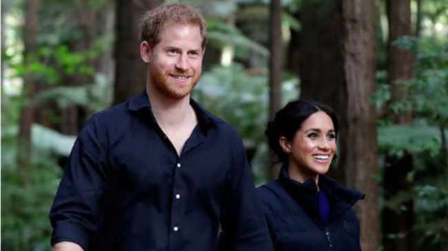 PARENTS: Prince Harry and Meghan